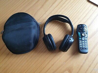 Car Rear Headphones with Remote 2 Channel