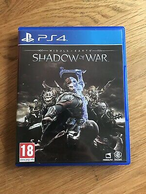 Middle Earth Shadow Of War Sony Playstation 4 PS4