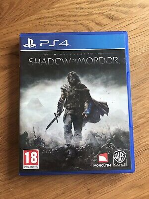 Middle Earth Shadow Of Mordor Sony Playstation 4 PS4