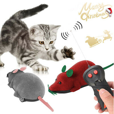 Funny Remote Control Electronic Rat Mouse Wireless For Cat Dog Pet Toy Novelty