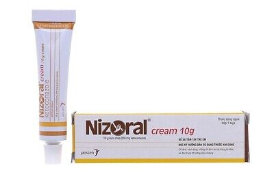 5X Nizoral Cream 10g Treatment For Fungal Infections Of The Skin