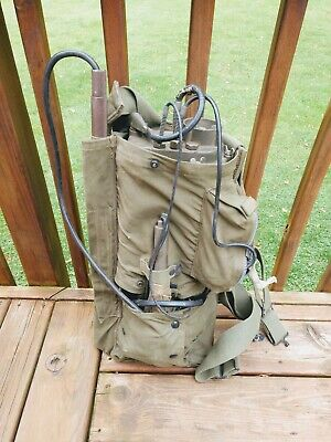 1944 mine detector US army corps of engineers AN/PRS-4 Emerson WWII WW2 nice bag
