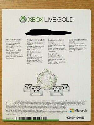xbox game pass + xbox live gold = 1 MONTH, next day dispatch