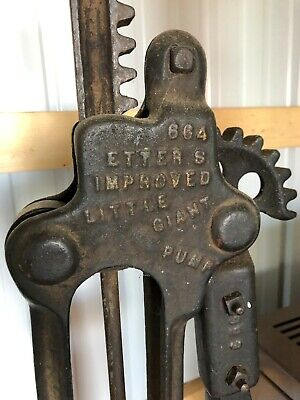 Antique Domestic and Engine Pump Co Water Well Hand Pump Heavy Cast Iron - 1902