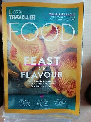 National geographic traveller magazine issue 2.   2018