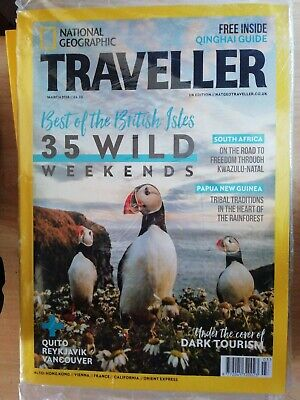 National geographic traveller magazine march    2018