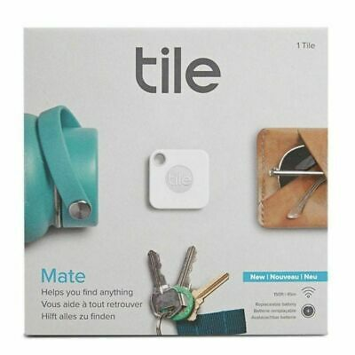 **NEW** Tile Mate Model T5001 Tracker Device w/ Replaceable Battery - 4 Tiles