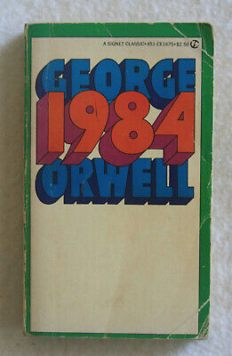 1984 by George Orwell (1981 Paperback)