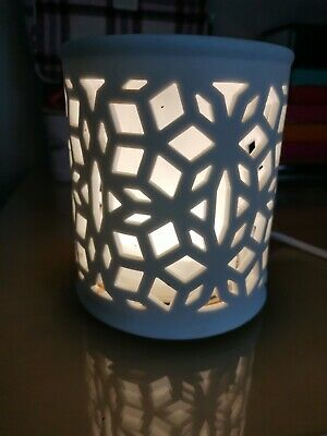 Scentsy Darling White Warmer (NO GLASS DISH - Warmer only)