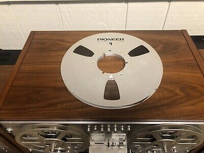 """Pioneer PR-100 10.5"""" Take Up Reel With Free Tape"""