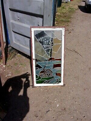 Reclaimed Stained Glass  Crittel    Window