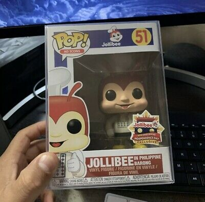 Funko POP! Ad Icon : #51 Jollibee In Philippine Barong Exclusive W/ Protector