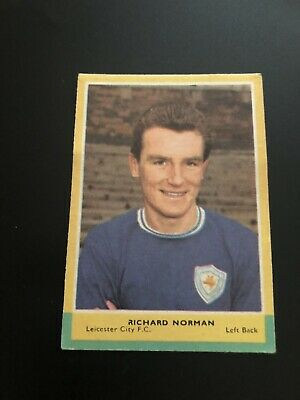 A&BC FOOTBALLERS CARD No 119 RICHARD NORMAN 3rd SERIES RED BACK QUIZ. 1964.