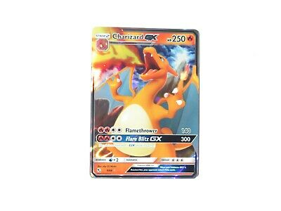 Pokemon Hidden Fates 9/68 Charizard GX Individual Single Cards! (A)