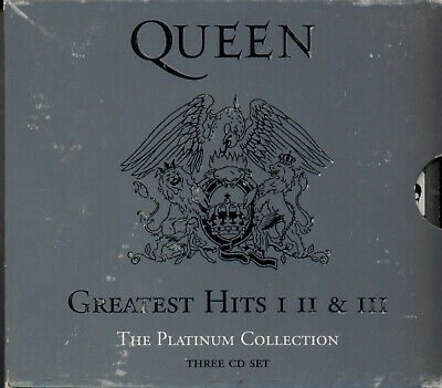 3 CD Set - QUEEN - The Platinum Collection - 2000 - Greatest Hits I, II & III