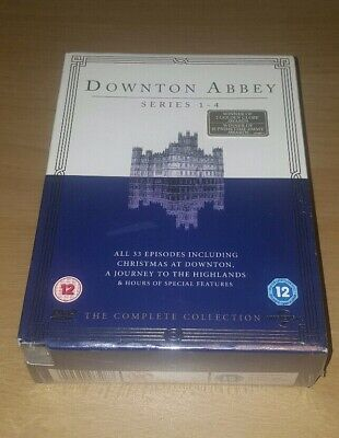 Downton Abbey - Series 1-4 Comlete Collection ( 15 Discs ) New & Sealed