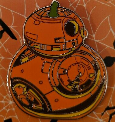 Disney Star Wars BB8 BB-8 Droid Halloween Pumpkin Pin