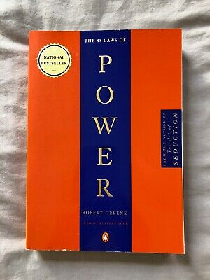 The 48 Laws of Power by Robert Greene (Paperback, 2000) Best Seller