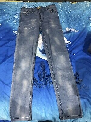 Piping Hot Boys Blue Denim Jeans size 9