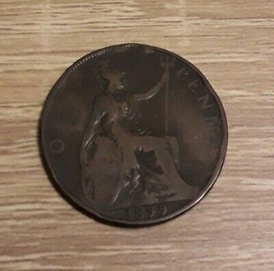 1899 PENNY 1p ONE P PENCE GREAT BRITAIN QUEEN VICTORIA