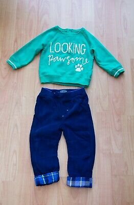 Boys Bundle age 12-18 Months. JOULES Trousers & Jumper