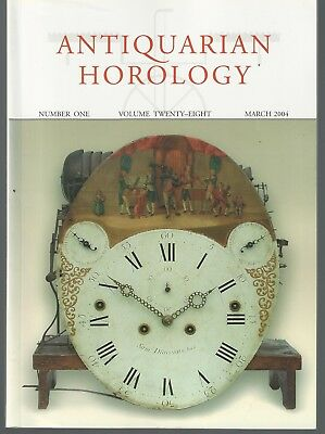 Four Issues of the AntiQuarian Horology Magazine 2004 Vol.28 1-4 Tompion Clocks