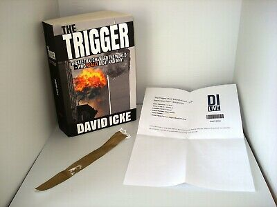 The Trigger by David Icke Brand New Signed Copy 9/11 Truth Movement Conspiracy