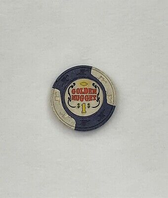 Las Vegas Casino Chip $1 Golden Nugget