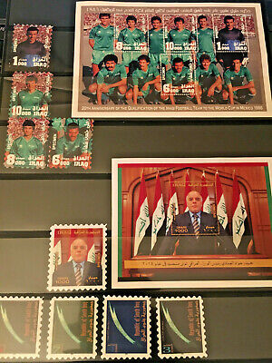 ****** IRAQ - Fantasy/Faux/Artistamps Stamps - New Issues/MS - Unique ******