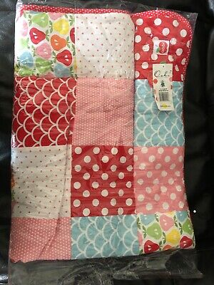 Oobi Pears cot Baby quilt brand new