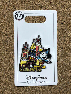 Disney Parks Exclusive Mickey Mouse 90th Birthday Let's Celebrate Pin 132531