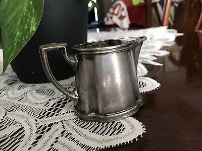 Reed And Barton Soldered Silver Cream Pitcher