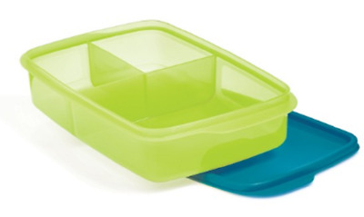 Tupperware Large Lunch-It Divided Dish Container