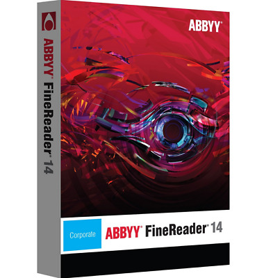 ABBYY FINEREADER 14 Enterprise Full Version Lifetime Activation Digital Download