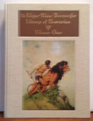 Edgar Rice Burroughs Library of Illustrations book 1 only S#553/2000 w/Letter