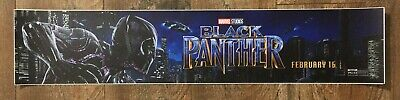Marvel - BLACK PANTHER - Movie Theater Poster / Mylar LARGE Vers - 5x25