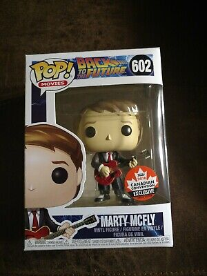 Funko POP! Back to the Future Marty McFly 2018 Canadian Con EXCLUSIVE #602