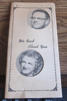 Paper Booklet Photo Picture Illinois Southern IL Salem Harley and Velma Queen
