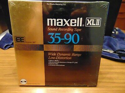 Maxell XL II EE 35-90 Sealed NOS Reel to Reel Tape