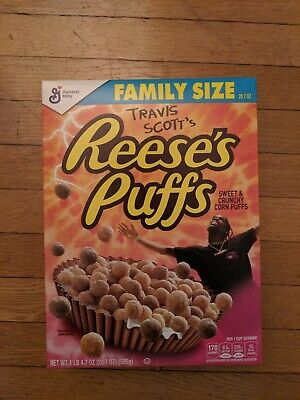 Travis Scott x Reese's Puffs Cereal *BULK 4 BOXES* - Sold out and very limited