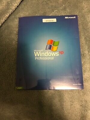 Sealed Microsoft Windows XP Professional Version 2002