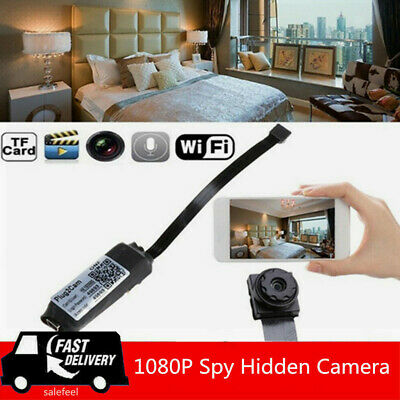 Wireless HD 1080P Digital Video Motion Activated Camera WiFi Mini Hidden Cam