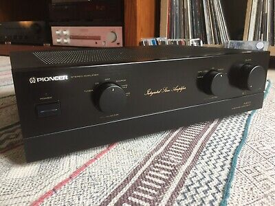 Pioneer A-400X Amplifier. Serviced & Recapped.