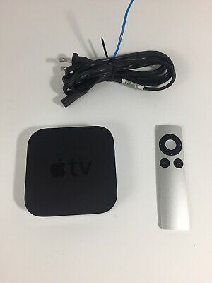 Apple TV (3rd Generation) 8GB HD Media Streamer - A1469 with Remote