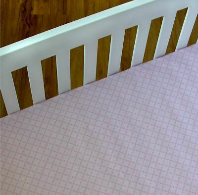 Living Textiles Adele Baby Cot Fitted Sheet - Diamond