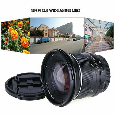 Kaxinda 12mm F2.8 APS-C Canon EOS M EF-M Mount Wide Angle Manual Fixed Lens
