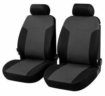 203490 R35 gray black front seat covers for AUDI Q5 (2008 - 2016)