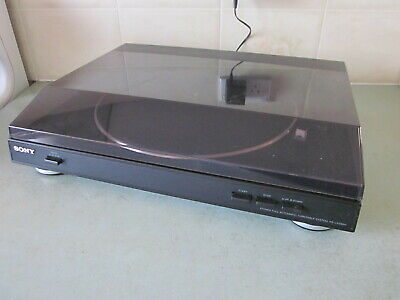 Sony PS-LX250H Auto Stereo Turntable Record Player with Built in Pre-Amplifier