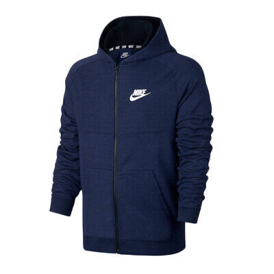 NIKE NSW ADVANCE 15 Hoodie LARGE 861738 010 Pullover