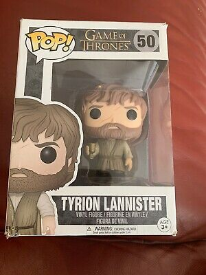 Official Funko Pop Vinyl Game Of Thrones  Tyrion Lannister # 50
